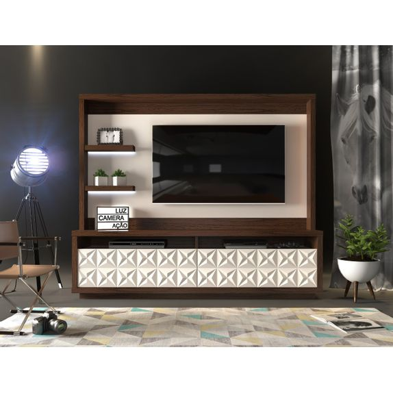 Home-Theater-Cavalli-Cinamomo-Castanho-Off-White---Ambiente